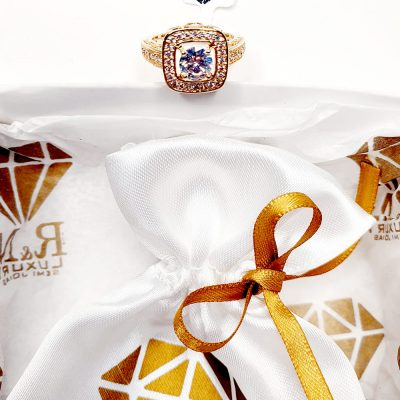 Anel Luxury Limited Edition Zirconia Ouro 18k - RM Luxury (9)